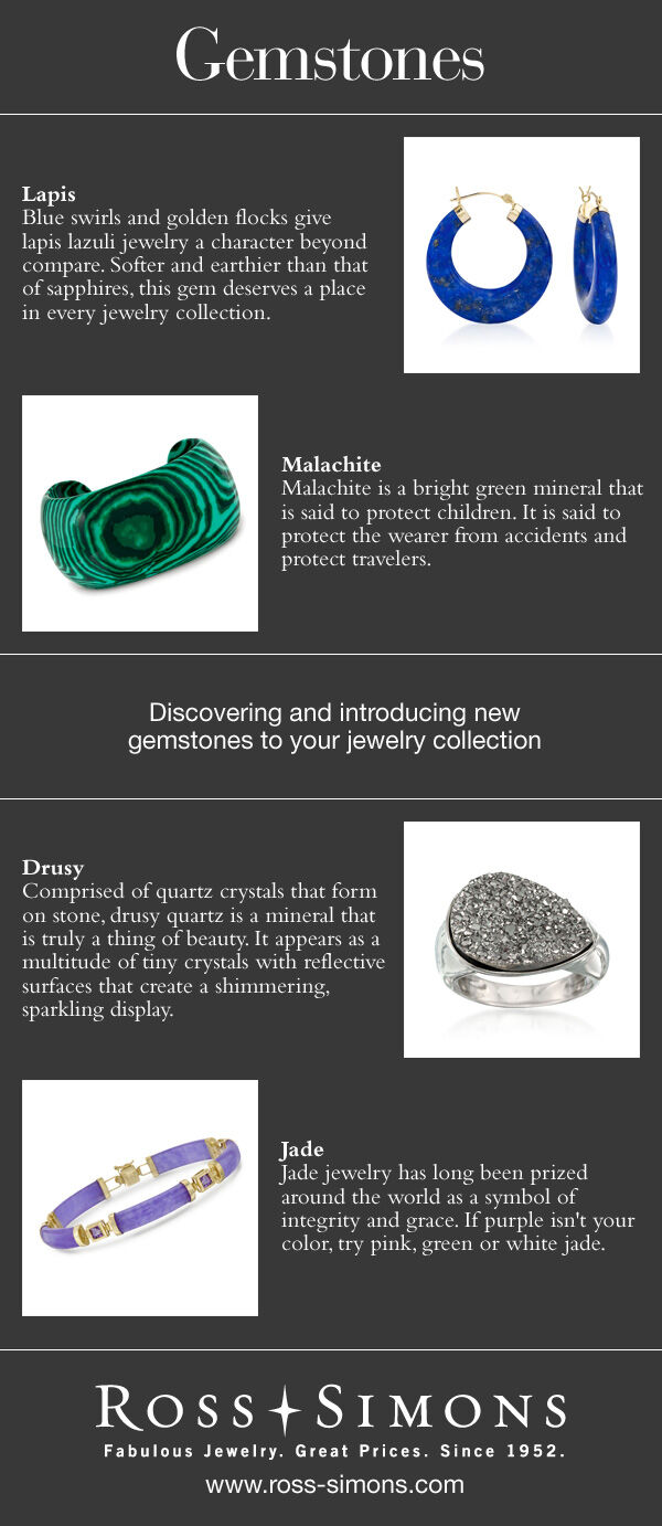 Discover New Gemstones Infographic. Text for this infographic can be found below under 'Infographic Full-Text' headline.