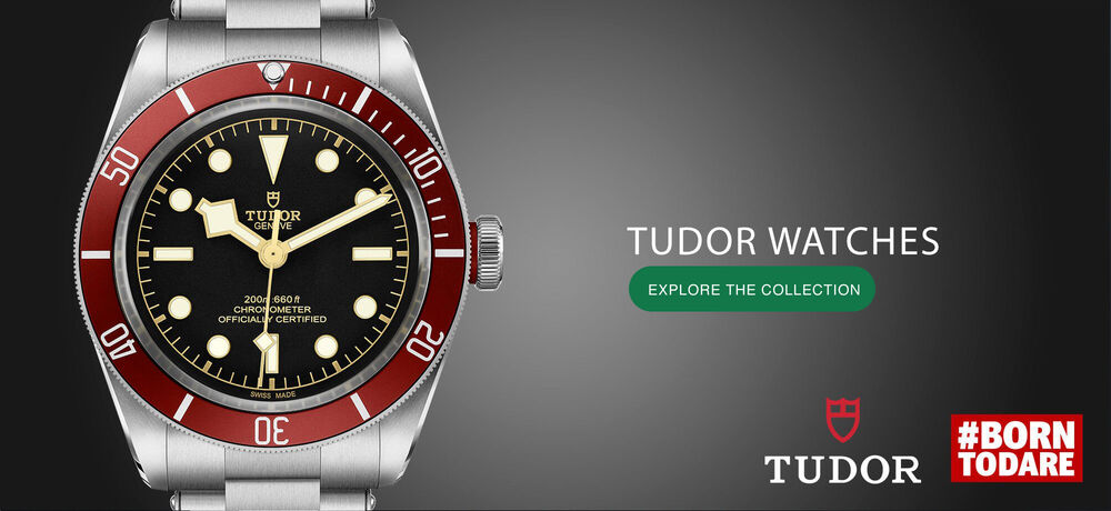 Tudor Watch Collection #BornToDare