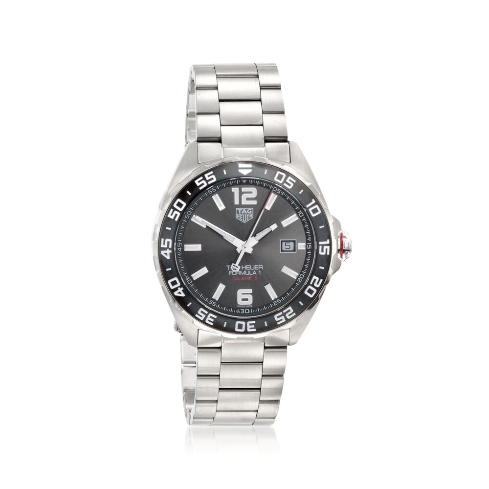 Tag Heuer Formula 1 43mm Men S Automatic Stainless Steel Watch With Anthracite