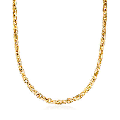 """Phillip Gavriel """"Italian Cable"""" Cable-Link Necklace in 14kt Yellow Gold, , default"""