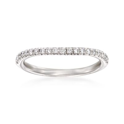 Henri Daussi .30 ct. t.w. Diamond Wedding Ring in Platinum, , default