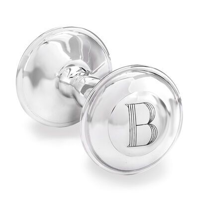 Cunill Sterling Silver Single Initial Rattle #860074