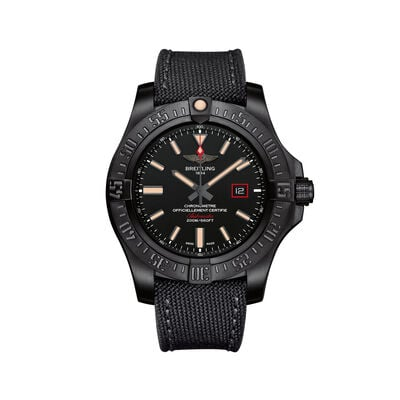 Breitling Avenger Blackbird Men's 44mm Black Titanium Watch, , default