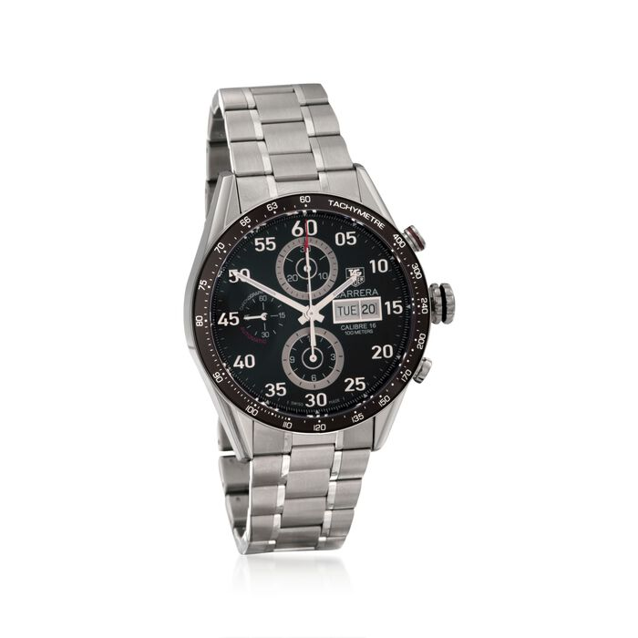TAG Heuer Carrera Men's Chronograph Watch in Stainless Steel, , default