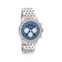 Breitling Navitimer 1 B01 Men's Auto Chronograph Stainless Steel Watch, , default