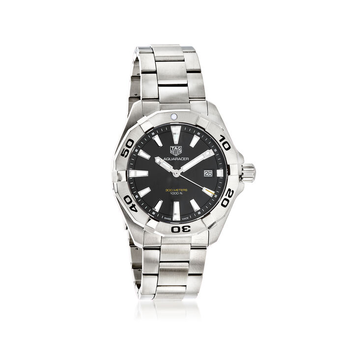 TAG Heuer Aquaracer 41mm Men's Stainless Steel Watch, , default