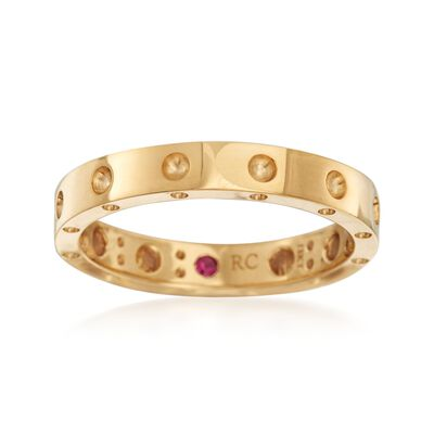 """Roberto Coin """"Symphony"""" Pois Moi 18kt Yellow Gold Ring, , default"""