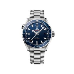 Omega Seamaster Planet Ocean Men's 43.5mm Stainless Steel Watch With Blue Dial , , default