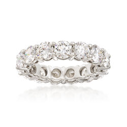 4.95 ct. t.w. Diamond Eternity Band in Platinum, , default