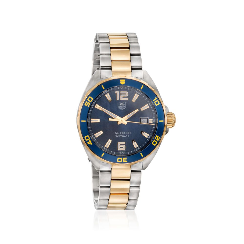 df6602b3d7a TAG Heuer Formula 1 Men s Watch in Gold Plate and Stainless Steel ...