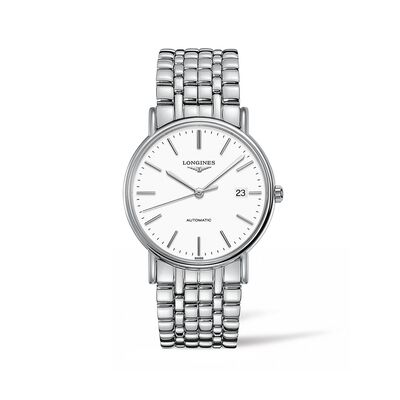 Longines Presence Men's 38.5mm Automatic Stainless Steel Watch