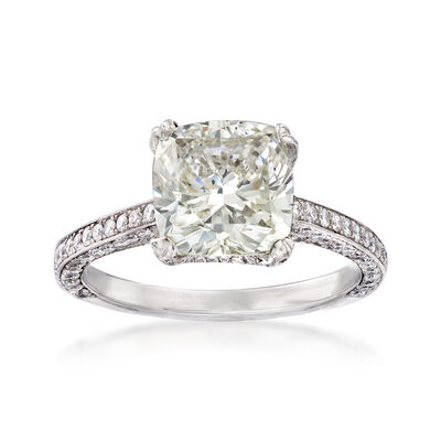 Majestic Collection 4.13 ct. t.w. Diamond Ring in Platinum, , default