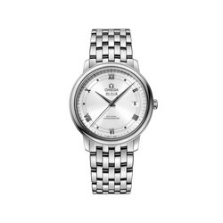 Omega De Ville Prestige Men's 36.8mm Stainless Steel Watch With White Dial, , default