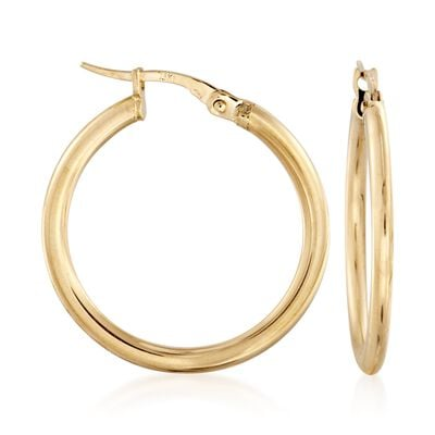 Roberto Coin 18kt Yellow Gold Hoop Earrings