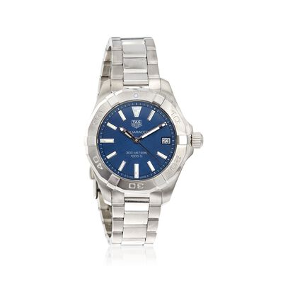 TAG Heuer Aquaracer Women's 32mm Stainless Steel Watch with Blue Dial