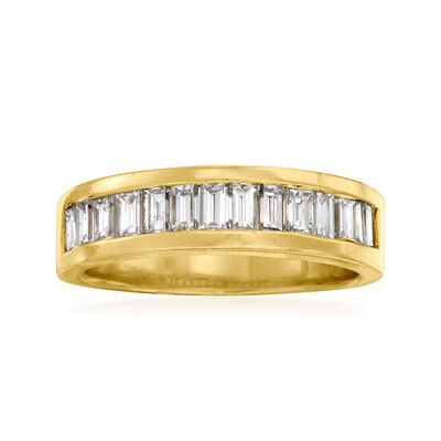 C. 1980 Vintage 1.10 ct. t.w. Diamond Ring in 18kt Yellow Gold