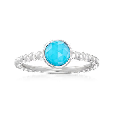 Gabriel Designs Turquoise Ring in Sterling Silver