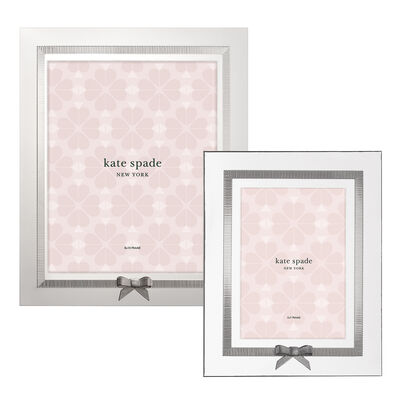 Kate Spade New York 'Grace Avenue' Frame in Silverplate #754894