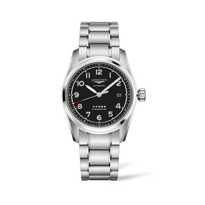 Longines Spirit Men's 40mm Automatic Stainless Steel Watch