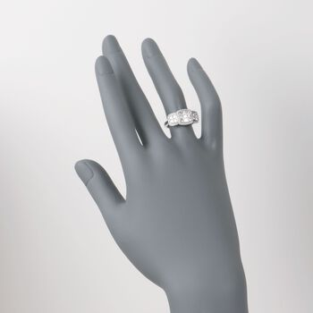 1.36 ct. t.w. Diamond Ring in 18kt White Gold, , default