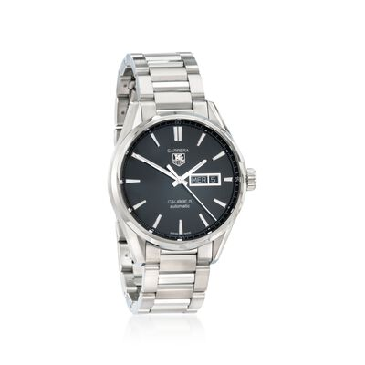 TAG Heuer Carrera Day-Date Men's 41mm Stainless Steel Watch