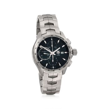 TAG Heuer Link Men's Chronograph Watch in Stainless Steel, , default