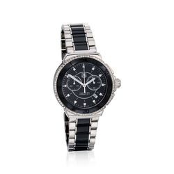 TAG Heuer Formula 1 Women's 41mm .53 ct. t.w. Diamond Watch in Stainless Steel and Black Ceramic, , default