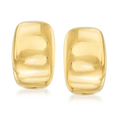 C. 1999 Vintage Cartier 18kt Yellow Gold Clip-On Earrings