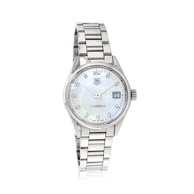 TAG Heuer Carrera Women's 32mm Stainless Steel Watch