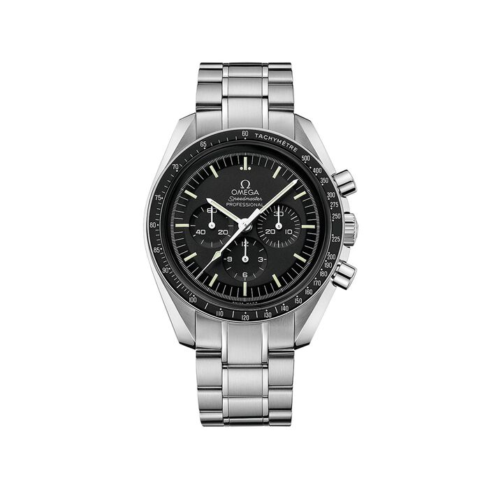 Omega Speedmaster Moonwatch 42mm Men's Mechanical Chronograph Stainless Steel Watch , , default