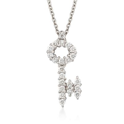 """Roberto Coin """"Tiny Treasures"""" .16 ct. t.w. in 18kt White Gold, , default"""