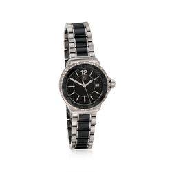 TAG Heuer Formula 1 Women's 37mm .35 ct. t.w. Diamond Watch in Stainless Steel and Black Ceramic, , default