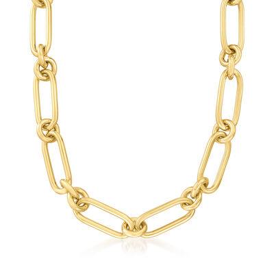 Roberto Coin 18kt Yellow Gold Link Necklace