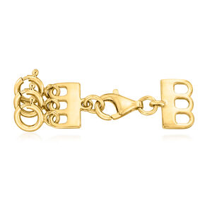 Italian 18kt Gold Over Sterling Layering Clasp #923629