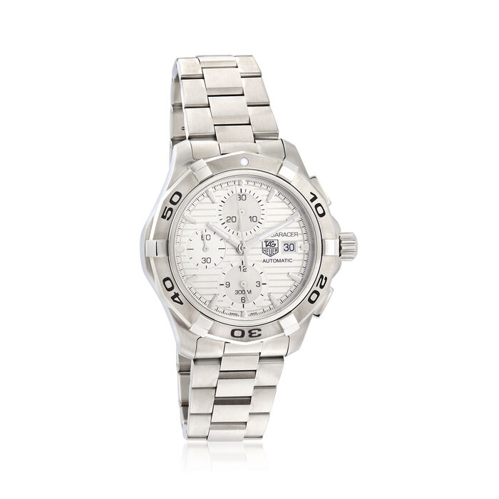 TAG Heuer Aquaracer Men's 42mm Auto Chronograph Stainless Steel Watch