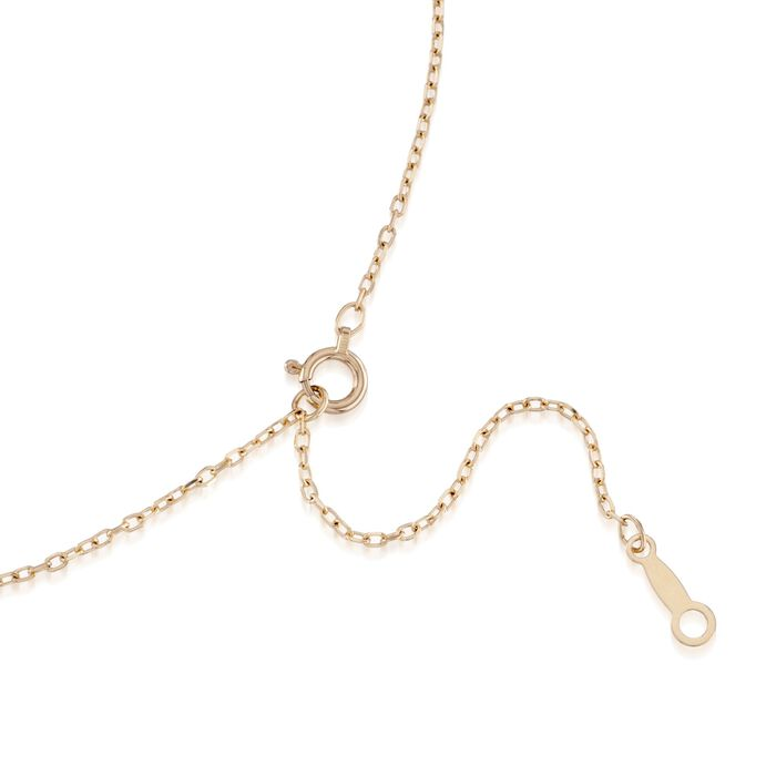 Mikimoto 6-6.5mm A+ Akoya Pearl Necklace with Diamond in 18kt Yellow Gold