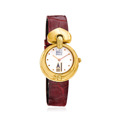 C. 1980 Vintage Nouvelle Bague Women's 28mm 18kt Two-Tone Gold Watch