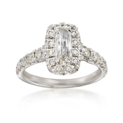 Henri Daussi 1.50 ct. t.w. Diamond Engagement Ring in 18kt White Gold, , default
