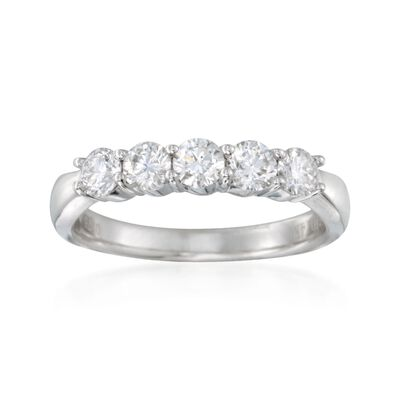 .75 ct. t.w. Diamond Ring in 14kt White Gold, , default