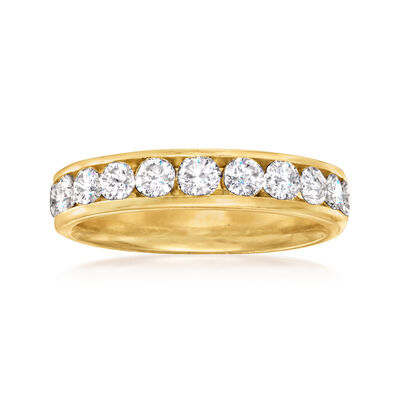 C. 1990 Vintage 1.00 ct. t.w. Diamond Ring in 14kt Yellow Gold
