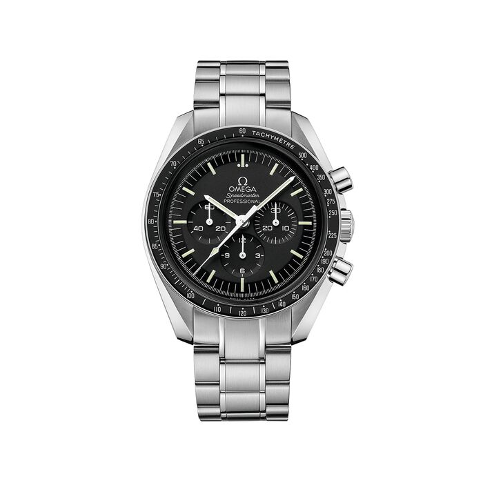 Omega Speedmaster Moonwatch 42mm Men's Mechanical Chronograph Stainless Steel Watch, , default