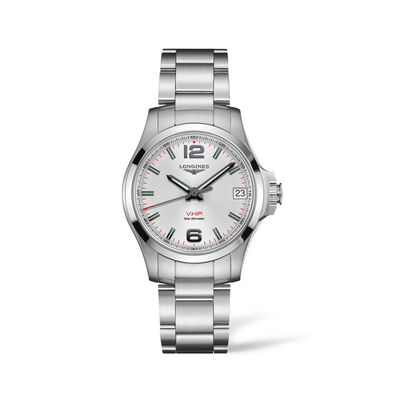 Longines Conquest V.H.P. Men's 36mm  Stainless Steel Watch