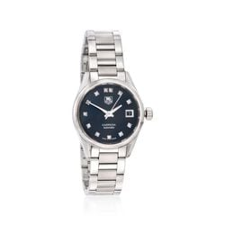 TAG Heuer Carrera Women's 28mm Stainless Steel Watch With .10 ct. t.w. Diamonds, , default
