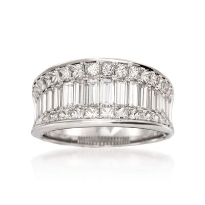 Simon G. 2.92 ct. t.w. Diamond Ring in 18kt White Gold