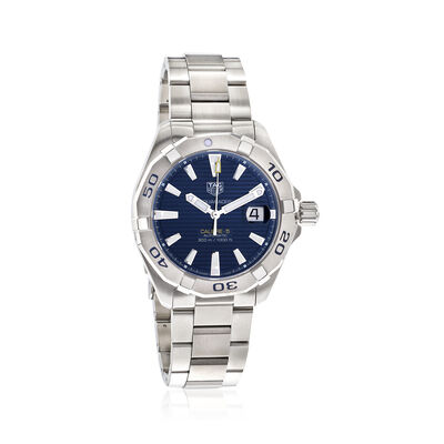 TAG Heuer Aquaracer Men's 41mm Automatic Stainless Steel Watch - Blue Dial, , default