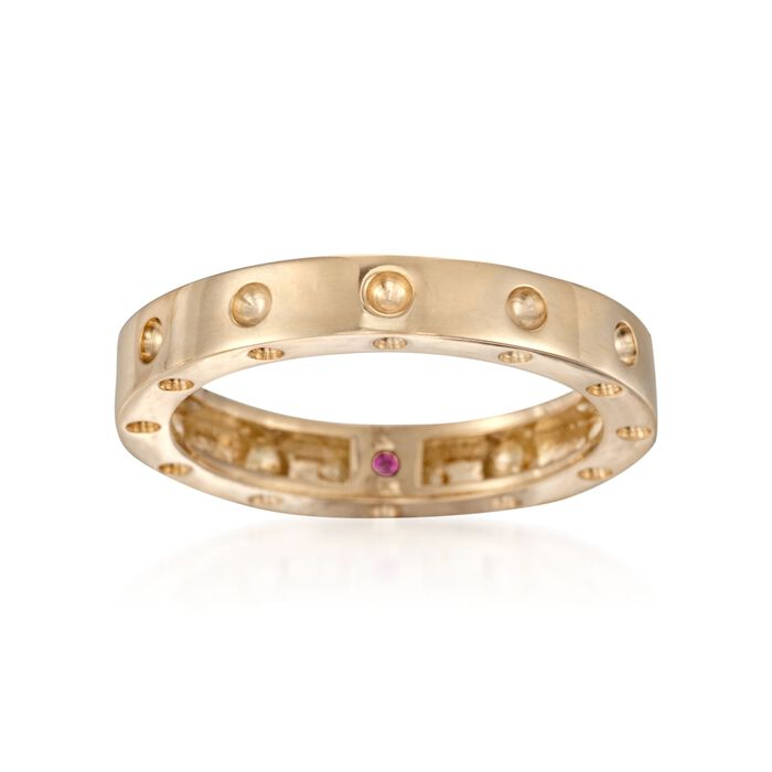 Roberto Coin Pois Moi Ring in 18-Karat Yellow Gold. Size 7, , default