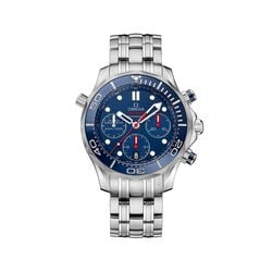 Omega Seamaster Diver Men's 44mm Stainless Steel With Blue Dial, , default