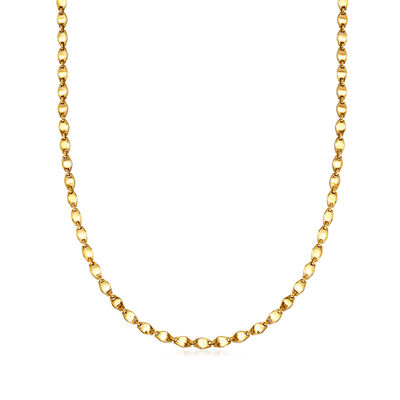 C. 1990 Vintage Cartier 18kt Yellow Gold Link Necklace