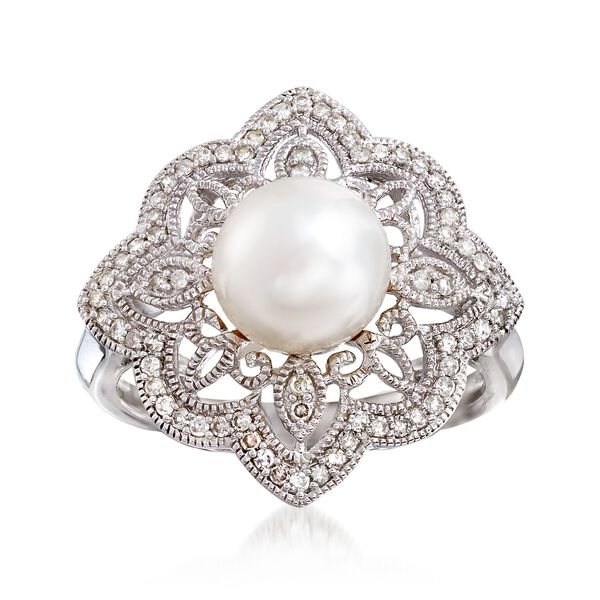 Jewelry Pearl Rings #892437