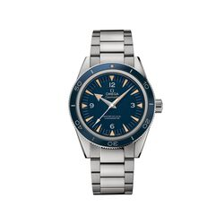 Omega Seamaster 300 Men's 41mm Titanium Watch With Blue Dial, , default